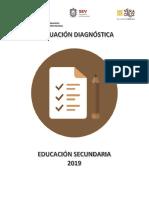 EXAMEN DIAGNÓSTICO 2019