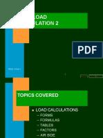 Heat Load Calculation 2