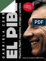Cerruti Gabriela. El Pibe. Biografía de Mauricio Macri.