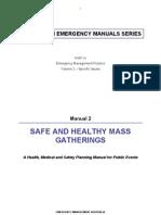 Ema Mass Gatherings Manual