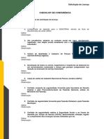 Check List para Acreditação de Inspeção Veicular