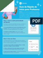 Edmodo TeacherQuickStartGuide Spanish
