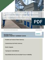 Control de Velocidad SIEMENS Para Motores de Media Tensión
