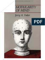 7225914 Fodor Modularity of Mind