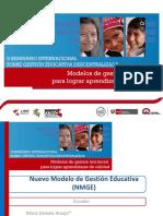 Daniela Araujo . Caso Ecuador.