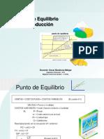Punto de Equilibrio Producción OBM.ppt