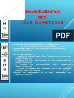 1 Edited Decentralization and Local Governance