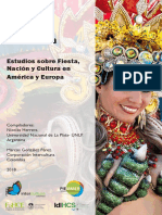 La Fiesta. Estudios sobre Fiesta, Nación y Cultura en América y Europa