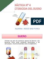 Poder Bactericida Del Suero