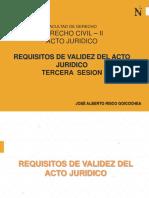 Tercera Semana Acto Juridico Wa 2019 - i Segundo Modulo