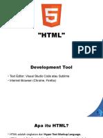 Materi HTML
