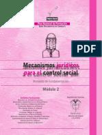 PNFCSGP - Modulo 02 - Mecanismos Jurídicos Para El Control Social