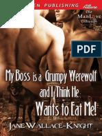 HLGruñón 01 MI JEFE es un Hombre Lobo Gruñón y creo que me quiere comer book