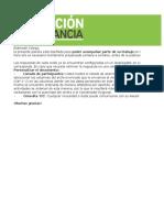 Educación a Distancia- Planilla de Acompañamiento -Materia- Profesor