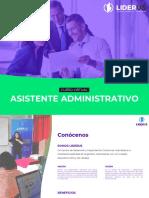 Brochure Asistente Administrativo