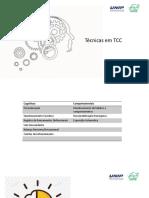 Aula TCC UNIP Técnicas