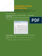 DESARROLLO POWER BUILDER Y ORACLE