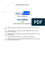 Gratisexam.com AACD.certkiller.aacd.v2015!03!20.by.mary.131q