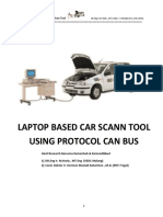 Laptop Based Scann Tool Using Protocol Can Bus