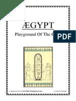 Zenobia - Ægypt - Playground of the Gods