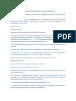 LOS AMBIENTES DE DEPOSITOS DE ROCAS DETRITICAS