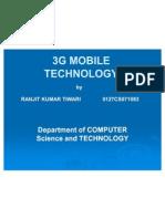 3g Mobile Technology