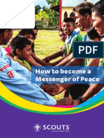Scout Messenger of Peace.