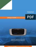 Cisco E2000 Series Datasheet