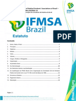 Estatuto Social da IFMSA Brazil - 54º AG