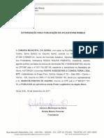 Decreto Autorizativo - Câmara Municipal da Serra/ES