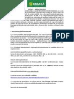 Edital Prefeitura de Cuiabá 2019