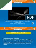 Presentation Malaria 2013