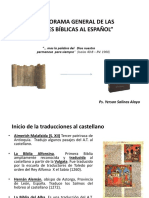 Versiones Al Español biblia