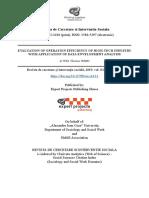 Evaluation of Operation Effici (1)