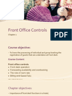Chapter 2 Front Office Controls