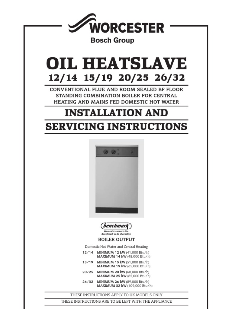 Installation and Servicing Instructions[1] | Water Heating | Thermostat