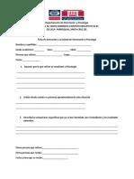 Ficha de Derivación a La Unidad de Orientación y Psicología