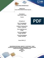 Unidad 2 - Ecuaciones diferenciales de orden superior