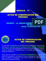 Modulo 11-Actos de Comunicacion.ppt · Versión 1