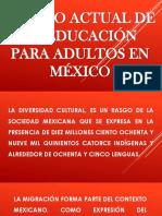 Estado actual de la educación para adultos en.ppt