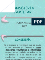 CONSEJERÍA FAMILIAR 2009.ppt