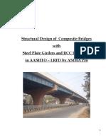 Composite Bridge Design Reports  in AASHTO-LRFD