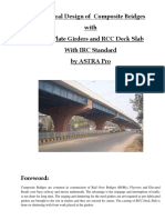 Composite Bridge Steel Girder Design in IRC