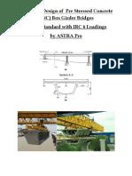 PSC Box Girder Bridge Design in IRC