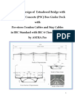 Extradosed Cable Stayed Bridge Design in IRC