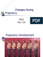 Physical Changes During Pregnancy--Full Term