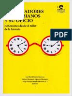 Los historiadores colombianos  y su oficio - reflexiones desde el taller de la historia (1).pdf