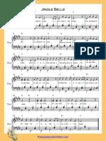 Jingle Bells E Major Piano