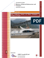 data collection water transport  Final Report