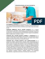 Terminología de Atención Integral de Salud Neonatal